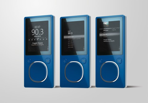 Zune flash PMP price-cut, plus firmware v3.1 released