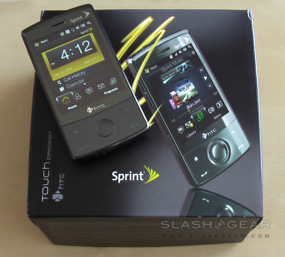 Sprint HTC Touch Diamond: Video Unboxing