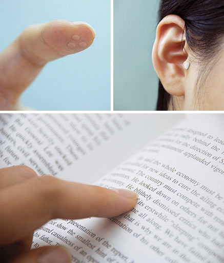 Touch-Hear concept puts knowledge at your fingertips–literally