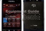 Verizon BlackBerry Storm press photos leak