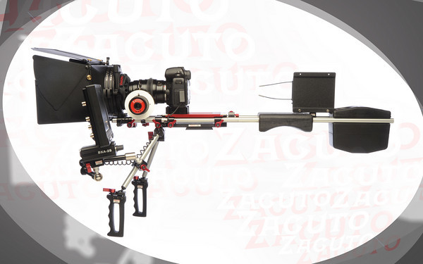 Zacuto offering up Nikon D90 and Canon 5D Mark II mounts