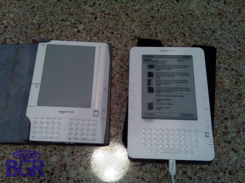 Amazon Kindle 2 breaks cover? Sleeker casing, new joystick & mini-USB