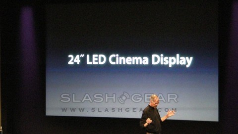 New 24-inch Apple Cinema Display announced