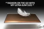 ASUS S101 luxury 'fashion' netbook official