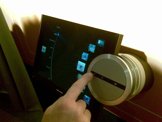 Bang & Olufsen BeoSound 2 controller with intelligent MP3 playlists