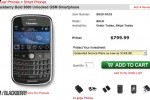 BlackBerry Bold shows up at CompUSA; crazy expensive