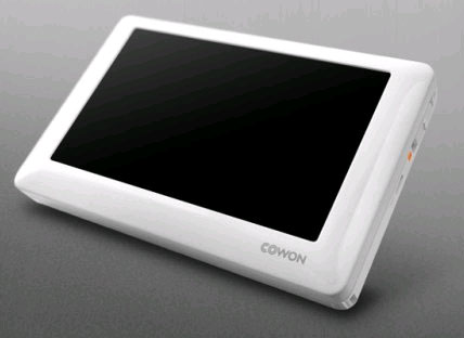 Cowon O2 touchscreen PMP released