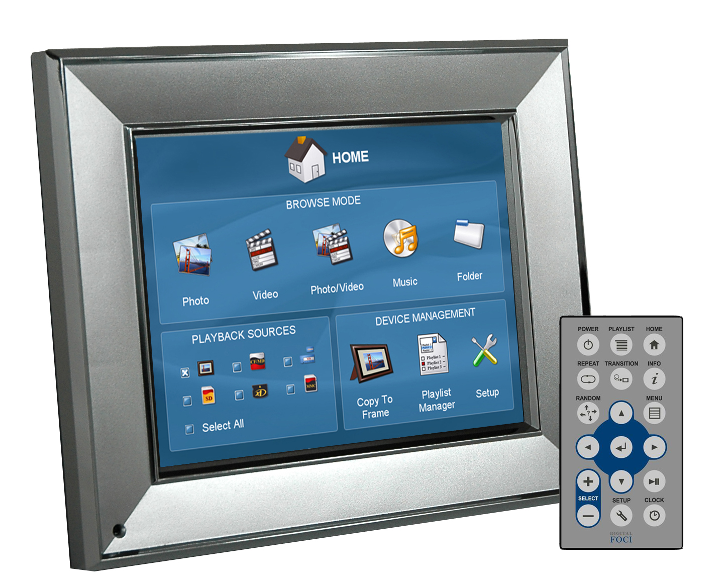 Digital Foci Image Moments 6 LCD photo frame – where's the WiFi?