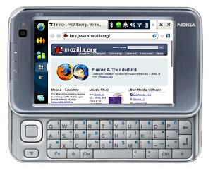 Firefox for Mobile coming next week for Nokia N810 Internet Tablet