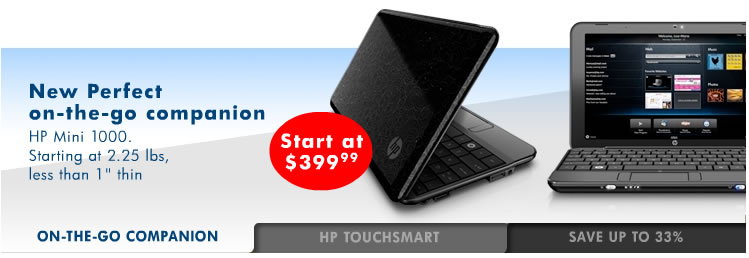 HP Mini 1000 netbook confirmed