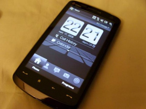 HTC Touch HD release date is November 6th in Europe