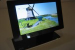 IPEVO Kaleido R7 digital photo frame can flip vertically