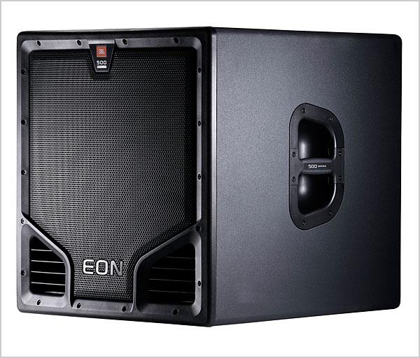 JBL EON 500 Series portable speakers look slick