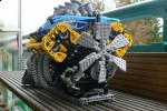 V8 Engine made of Legos; no it can't power your car