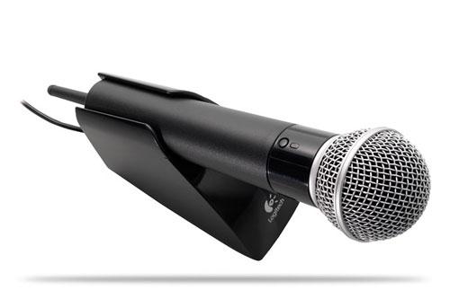 Logitech Cordless Vantage Microphone launches