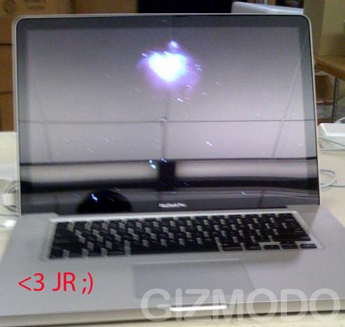 New Spyshot shows off Macbook Pro
