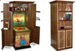 Personalized Whac-a-Mole game in covert, remote-control cabinet