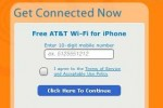 Free Wi-Fi for iPhone owner from at&t