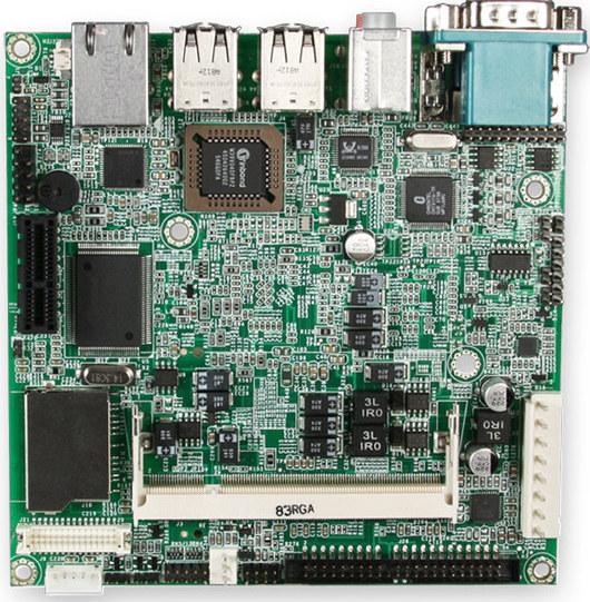 Portwell Nano-8044: first nano-ITX board with Intel Atom CPU