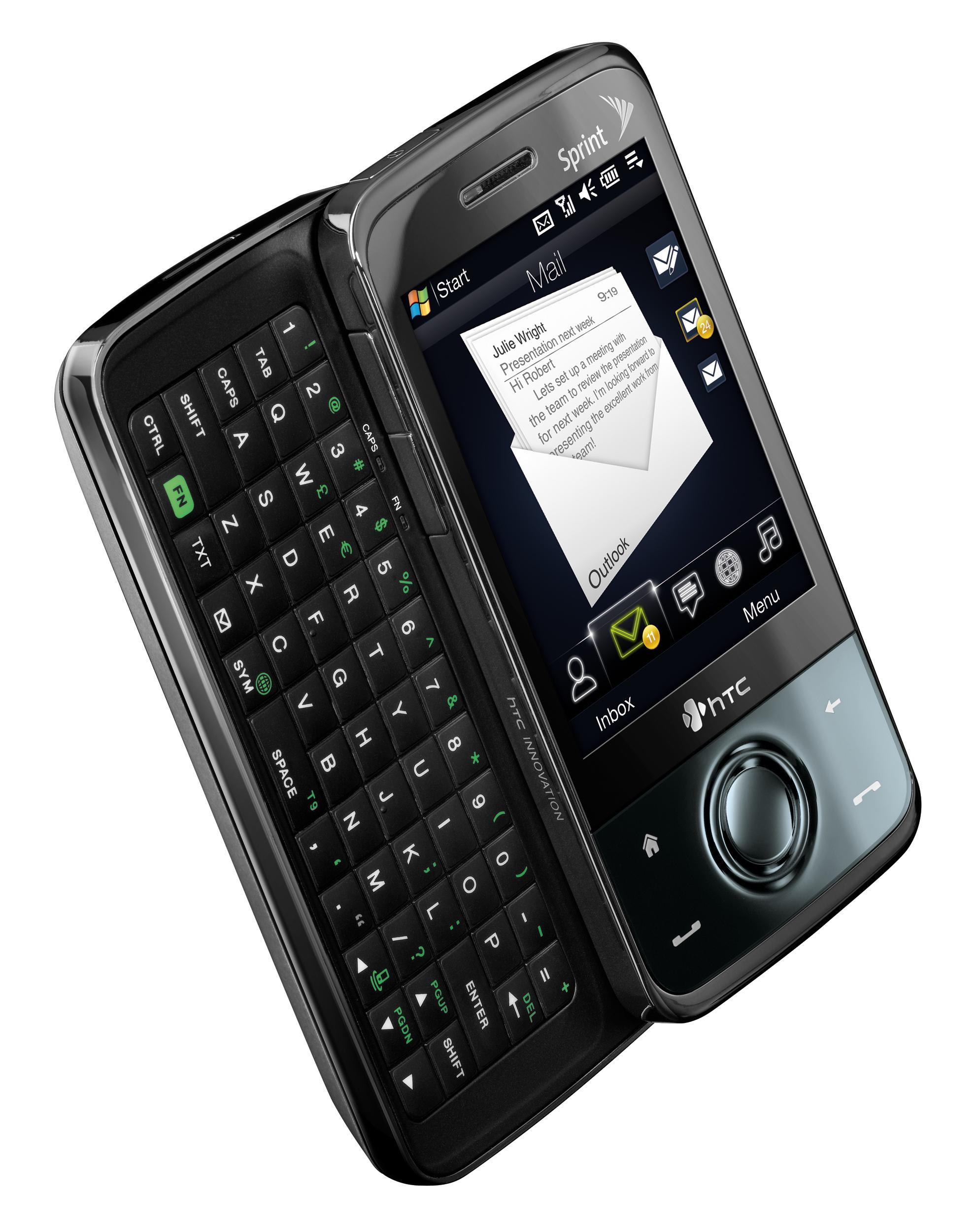 Sprint HTC Touch Pro announced: EV-DO Rev.A, QWERTY & more