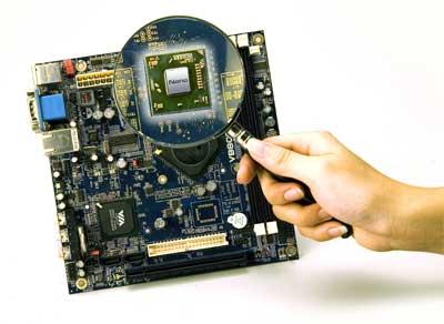 VIA VB8001 Mini-ITX board with Nano processor