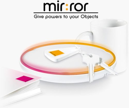 Violet Mir:ror connects all your items by RFID