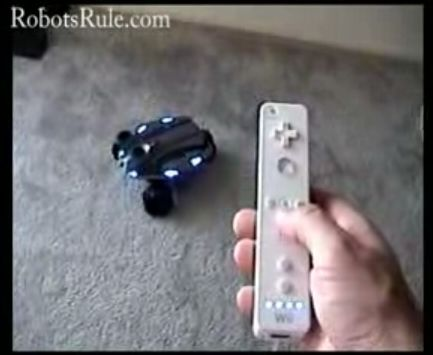 WowWee Rovio Wiimote-control software: Video Demo