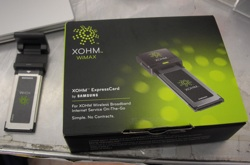 Sprint XOHM WiMax Baltimore Speed Tests