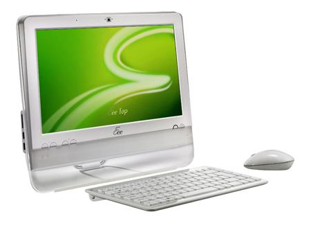 ASUS Eee Top ET1602 and ET1603 touchscreen PC official