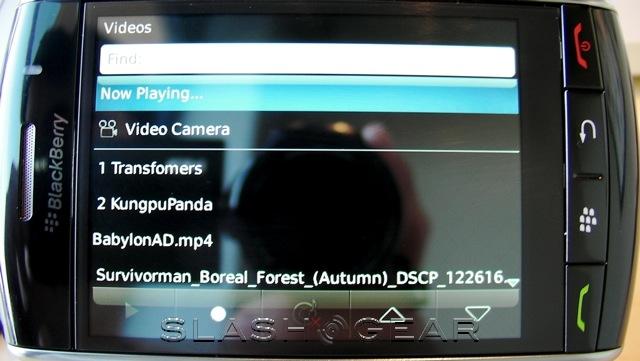 BlackBerry Storm for Verizon review part 2