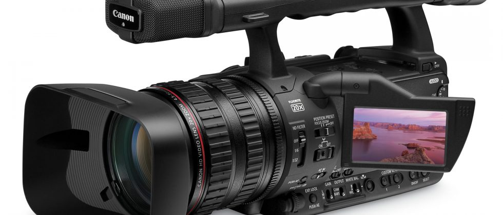 Canon XH A1S and XH G1S 1080p 24 high-def camcorders