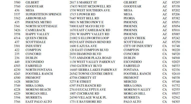 Circuit City axes 155 stores