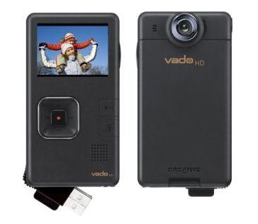 Creative Vado HD 720p $200 camcorder up for preorder