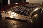 Datamancer Ergo Steampunk ergonomic keyboard