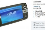 ASUS R50a UMPC available for $1,399: still too expensive