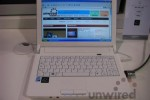 ECS J10IL netbook: integrated HDSPA, just as first promised