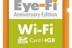 Eye-Fi 4GB Anniversary Edition WiFi SD card released