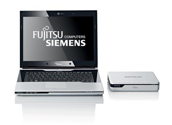 Fujitsu AMILO Sa 3650 ultraportable with external GraphicBooster video card