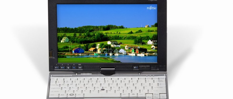 Fujitsu LifeBook P1630 8.9-inch touchscreen ultraportable