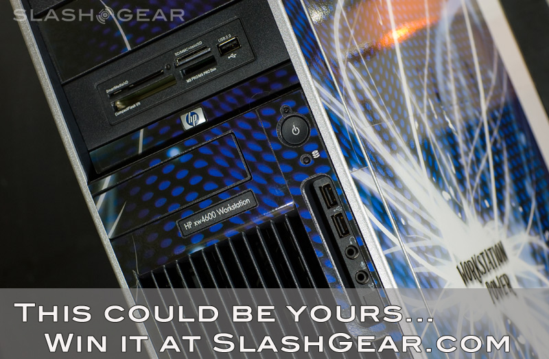 SlashGear HP xw4600 Workstation Giveaway