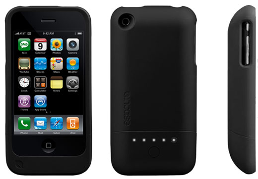 Incase Power Slider battery case for iPhone 3G