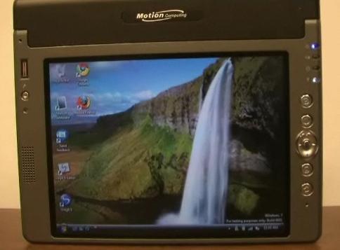 Motion LS800 Tablet PC gets Windows 7 treatment: huge success