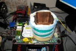 Atom CPU overclocked to 2.385GHz with liquid nitrogen