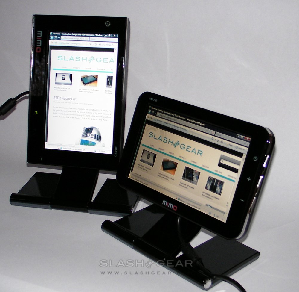 Nanovision MIMO UM-710 & UM-730 USB displays Review