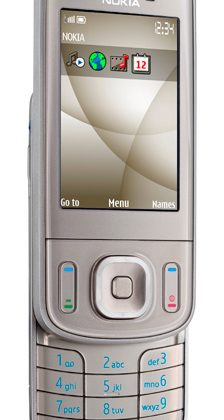 Nokia 6260 Slide: 3G, 5MP camera and GPS