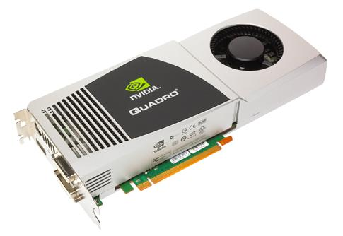 NVIDIA QuadroFX 5800: 4GB memory & 240 parallel cores