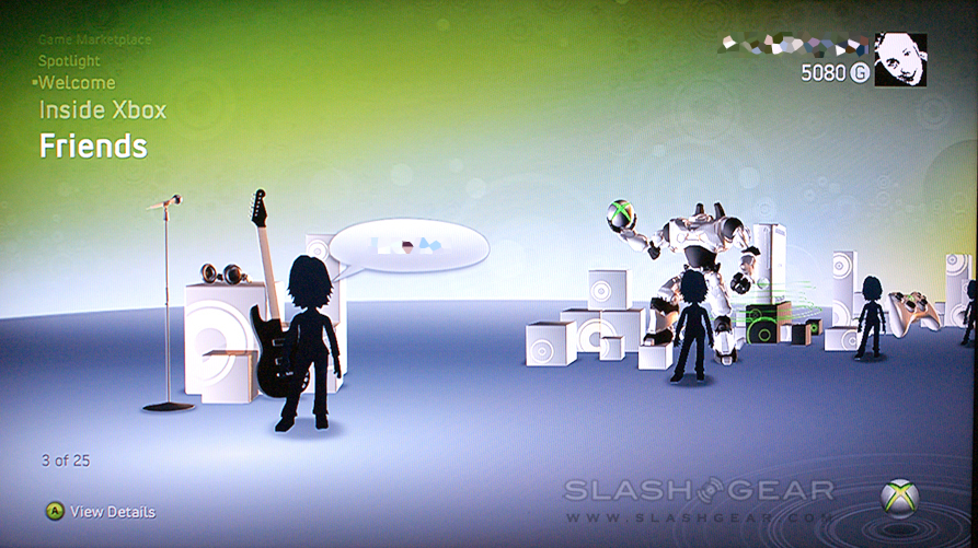 Microsoft New Xbox Experience: SlashGear Hands-On Preview