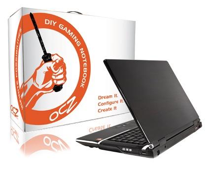 OCZ DIY Gaming Notebook updated: Centrino 2, ATI graphics & Blu-ray