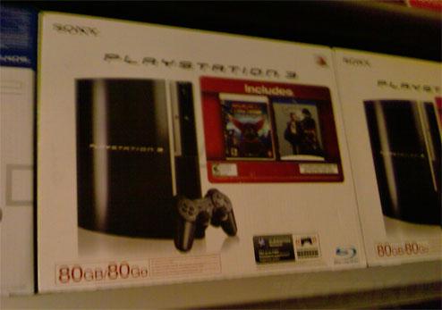 $400 PS3 plus Ratchet & Crank and Casino Royale bundle coming