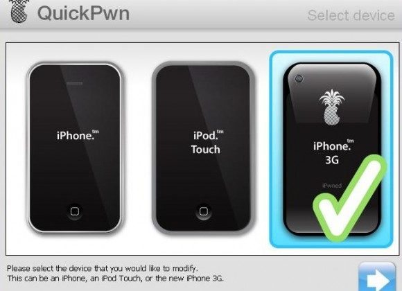 QuickPwn for iPhone 2.2 released
